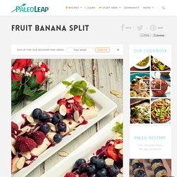 Fruit Banana Split