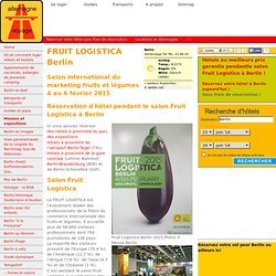 Fruit Logistica Berlin 2015