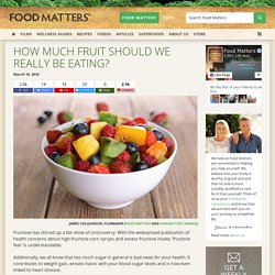 How Much Fruit Should We Really Be Eating?