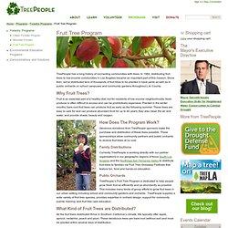 Fruit Tree Program