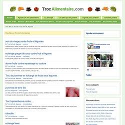 Troc de fruits, légumes