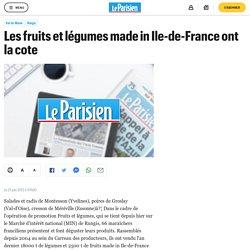 Les fruits et légumes made in Ile-de-France ont la cote