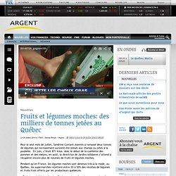 Fruits et légumes moches: des milliers de tonnes jetées au Québec