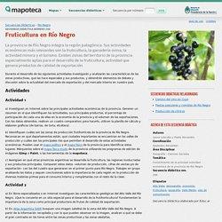 Fruticultura en Río Negro