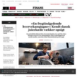 »En frygtindgydende hvervekampagne«: Kendt dansk juicekæde vækker opsigt