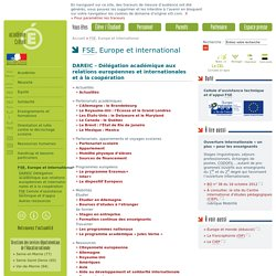 FSE, Europe et international
