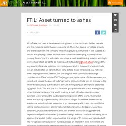 FTIL: Asset turned to ashes
