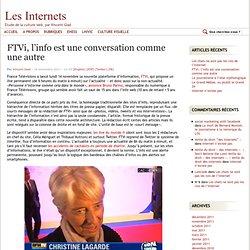 FTVi, l'info est une conversation comme une autre