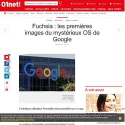 Fuchsia : les premières images du mystérieux OS de Google