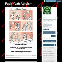 Fuck Yeah Atheism