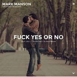 Fuck Yes or No