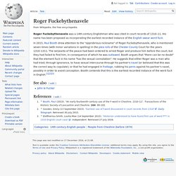 Roger Fuckebythenavele - Wikipedia