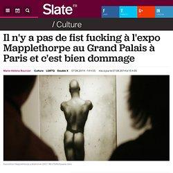 Il n'y a pas de fist fucking à l'expo Mapplethorpe au Grand Palais à Paris et c'est bien dommage
