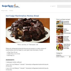 Hot Fudge-Marshmallow Monkey Bread