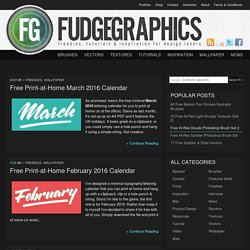 Fudgegraphics | for lovers