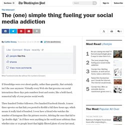 The (one) simple thing fueling your social media addiction