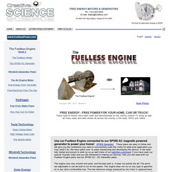 The Fuelless Engine Plans