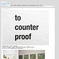 Fugitif » > to.counter.proof