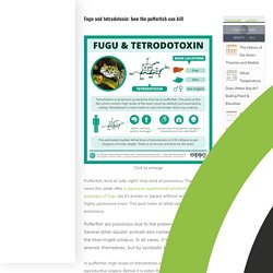 COMPOUNDCHEM 17/01/18 Infographie : Fugu and tetrodotoxin: how the pufferfish can kill