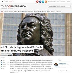 « L'Art de lafugue » deJ.S.Bach, unchefd'œuvre inachevé