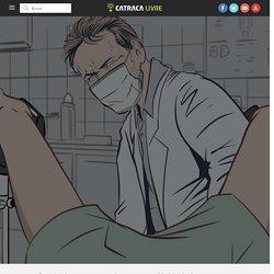 Fui assediada no ginecologista