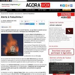 Alerte à Fukushima !