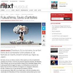 Fukushima, l'avis d'artistes