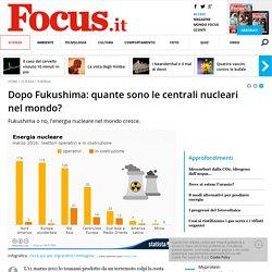 Dopo Fukushima: quante sono le centrali nucleari nel mondo?