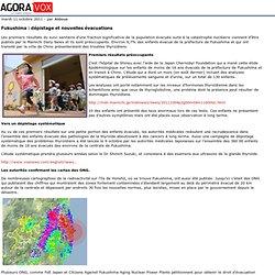 AGORAVOX 11/10/11 Fukushima : dépistage et nouvelles évacuations