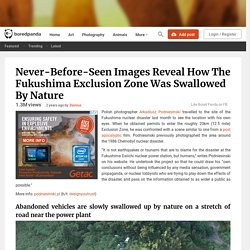 The Fukushima Exclusion Zone Was Swallowed By Nature