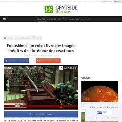 Fukushima : un robot livre des images inédites de l'intérieur des réacteurs