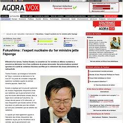 Fukushima : l'expert nucléaire du 1er ministre jette l'éponge