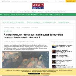 Fukushima : le robot sous-marin Mini-Mambo explore le 3e réacteur noyé de la centrale - Sciencesetavenir.fr
