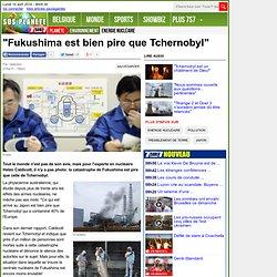 """""""Fukushima est bien pire que Tchernobyl"""" - Séisme et tsunami au Japon"""