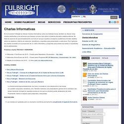 Fulbright » Charlas Informativas