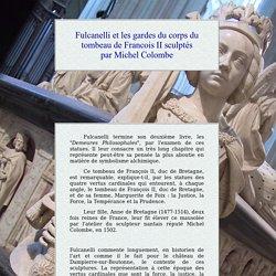 Fulcanelli et les statues de Michel Colombe