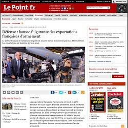 Défense : hausse fulgurante des exportations françaises d'armement
