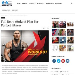 Why Full Body Workout Plan Is Necessary?