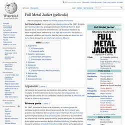 Full Metal Jacket (película)