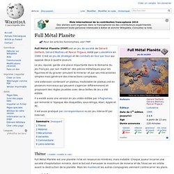 Full Métal Planète