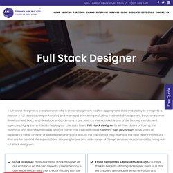 Full Stack Web Designer - Full Stack UI Developer