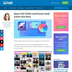 New! Full Trello Card Covers And Colors Are Here