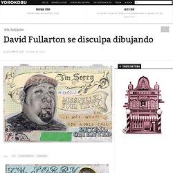 David Fullarton se disculpa dibujando