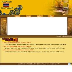 Fullmoon Thai Resturant - Soup