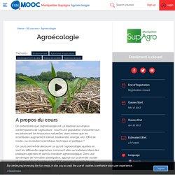 AGREENIUM AGROECOLOGIE - Mooc Agroécologie. (débute en février 2017)
