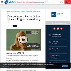 MOOC l'anglais pour tous (FUN)