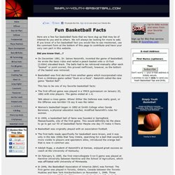 Fun Basketball Facts: Did You Know?