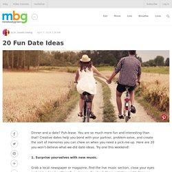 20 Fun Date Ideas