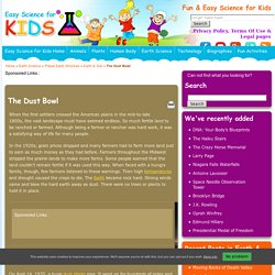 All About Dust Bowl - Easy Science For Kids