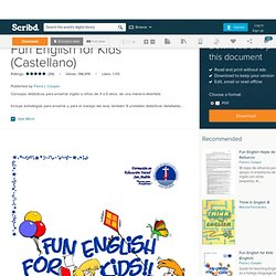 Fun English for Kids (Castellano)